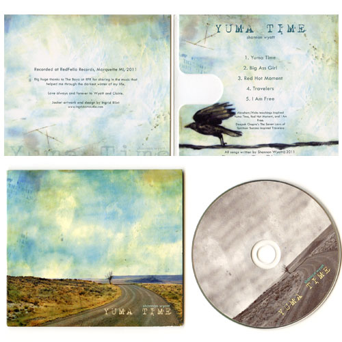 CD cover package design