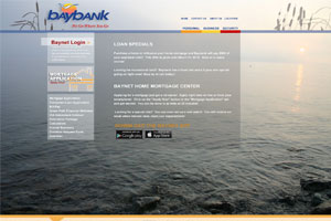 Bay Bank Web Design